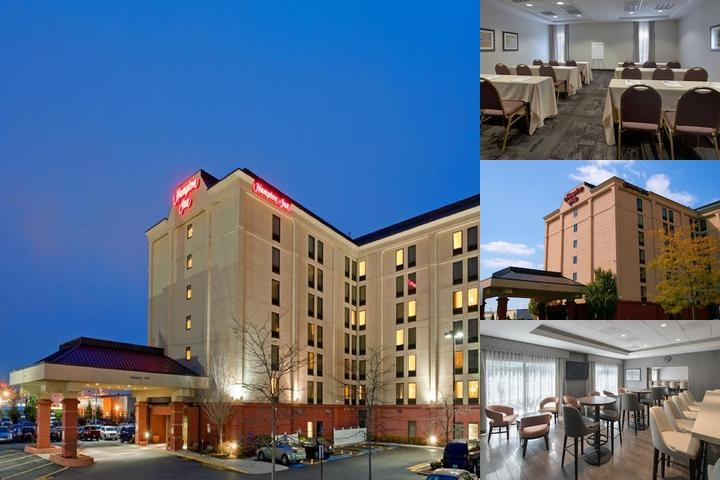 Hampton Inn Logan Airport photo collage