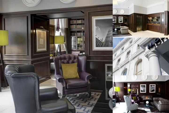 Best Western Mornington Hotel London Hyde Park photo collage