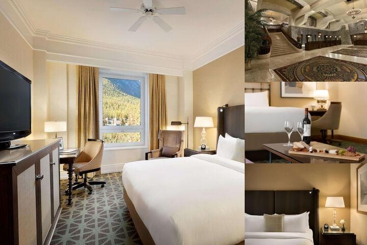 The Fairmont Banff Springs photo collage