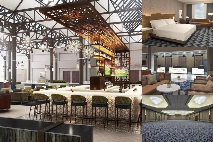 Hilton Houston North photo collage