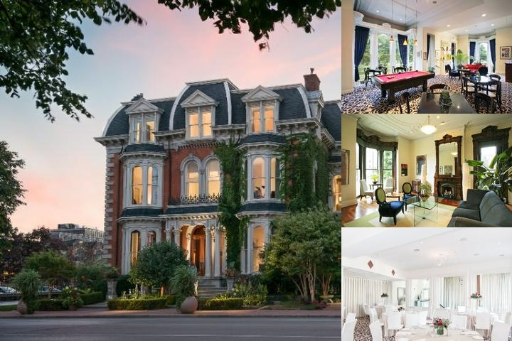 The Mansion on Delaware Avenue photo collage