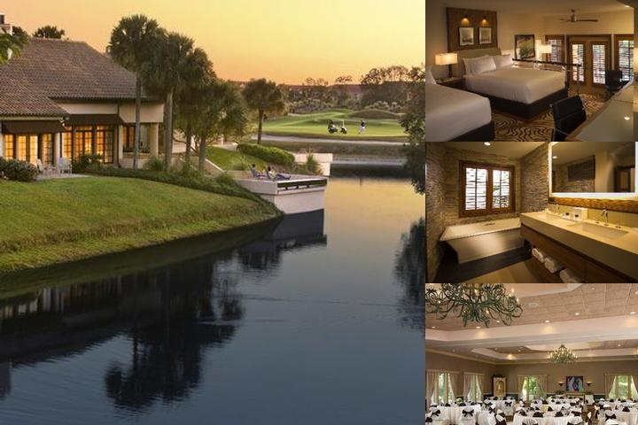 The Villas of Grand Cypress photo collage
