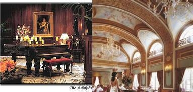 The Adolphus Hotel photo collage