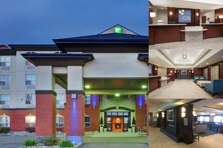 Holiday Inn Express Hotel & Suites Sherwood Park photo collage