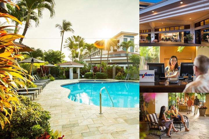 Maui Coast Hotel photo collage