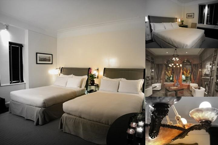 Mansfield Hotel photo collage