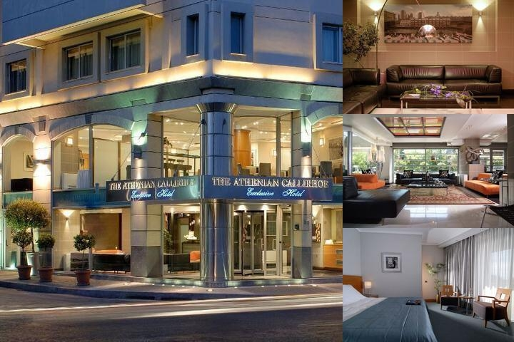 Athenian Callirhoe Hotel photo collage