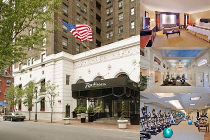 Radisson Plaza Warwick Hotel photo collage