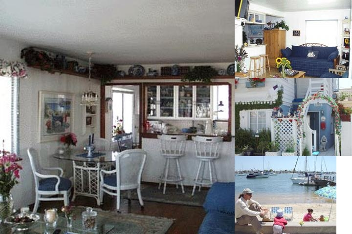 The Island Cottage photo collage