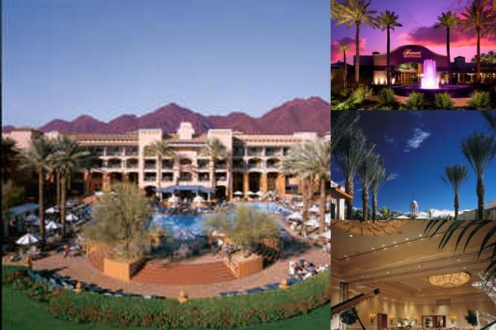 Fairmont Scottsdale Princess photo collage