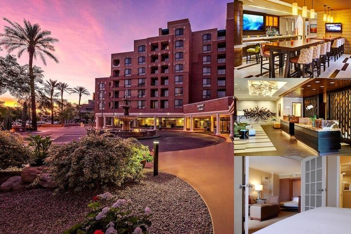 Marriott Suites in Old Town Scottsdale photo collage