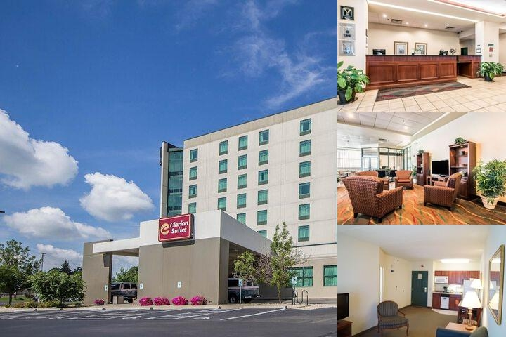 Clarion Suites at the Alliant Energy Center photo collage