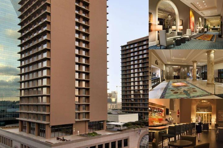 The Fairmont Dallas photo collage