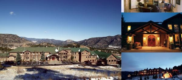 Taharaa Mountain Lodge photo collage