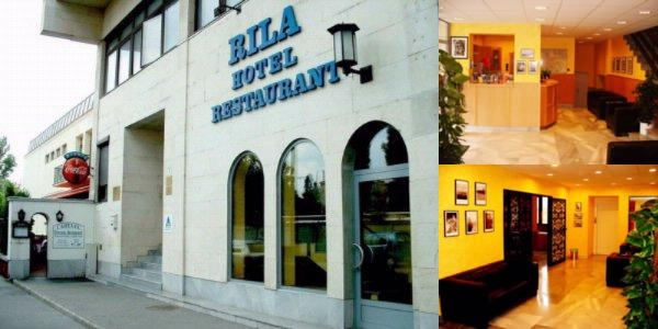 Hotel Rila Budapest photo collage
