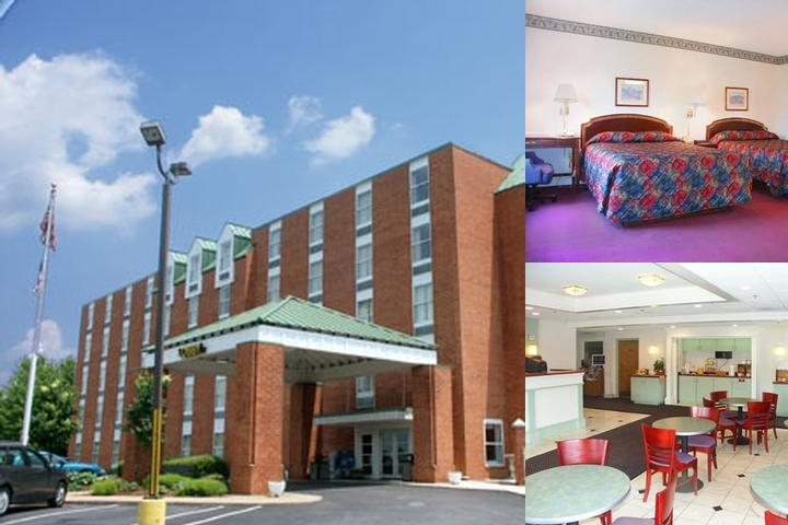 University Inn Lynchburg photo collage