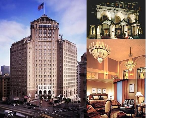 Intercontinental Mark Hopkins photo collage