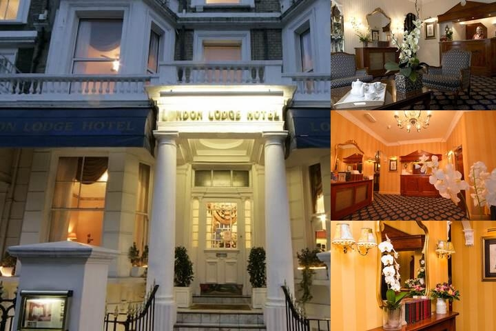 London Lodge Hotel photo collage