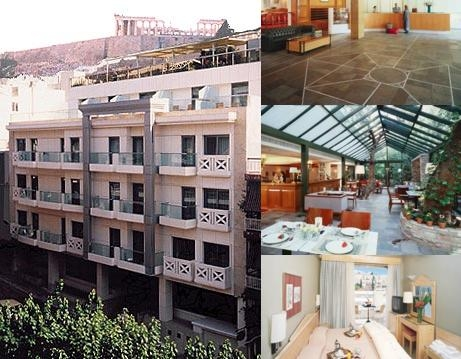 Herodion Hotel photo collage