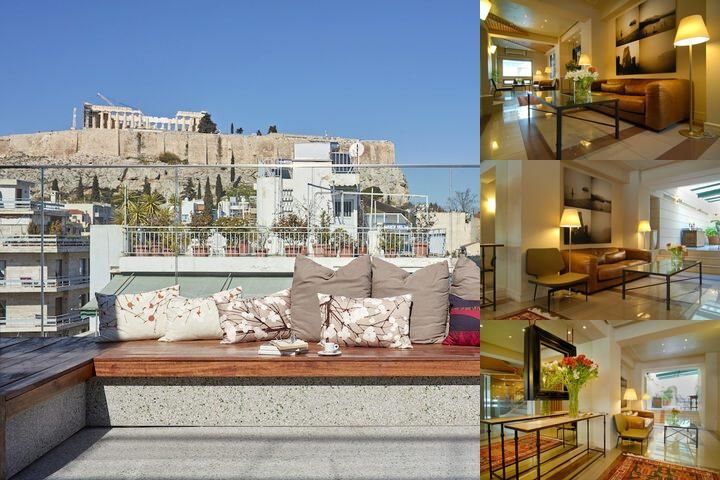 Philippos Hotel photo collage