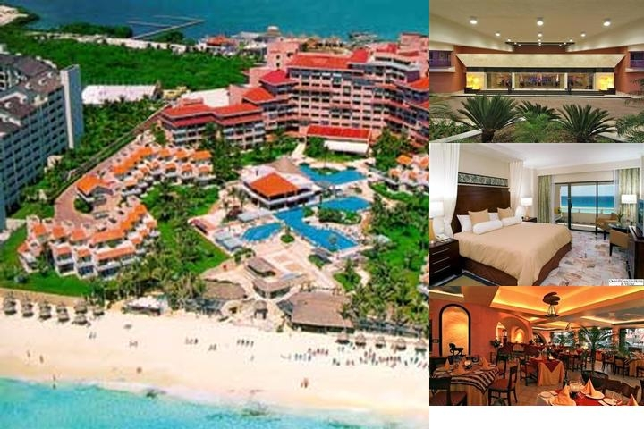 Omni Cancun Hotel & Villas photo collage
