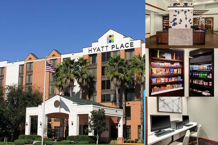 Hyatt Place Lakeland Center photo collage