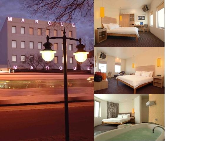 The Marque Hotel Melbourne photo collage