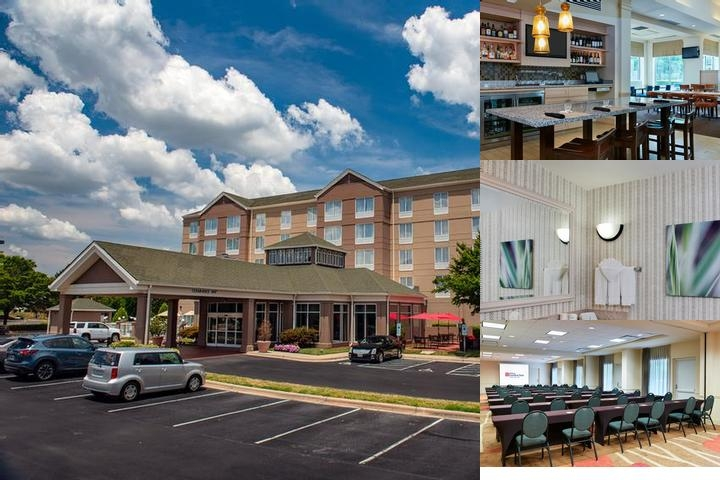 Hilton Garden Inn Charlotte Pineville photo collage