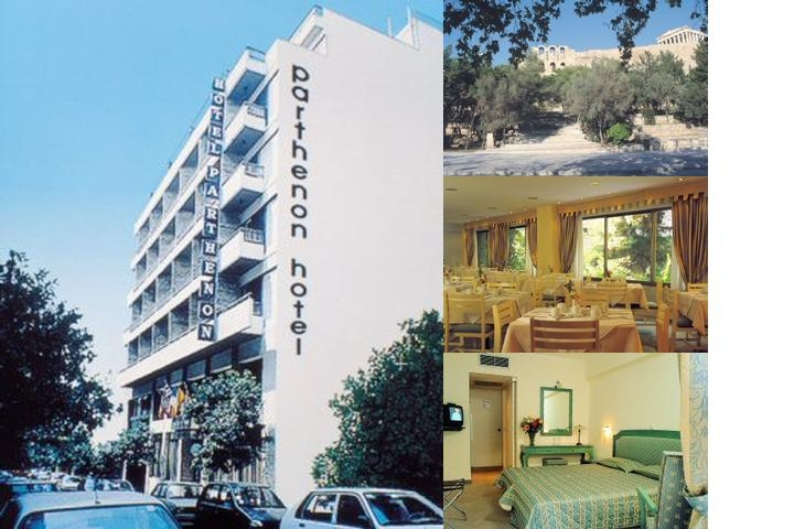 Parthenon Hotel photo collage