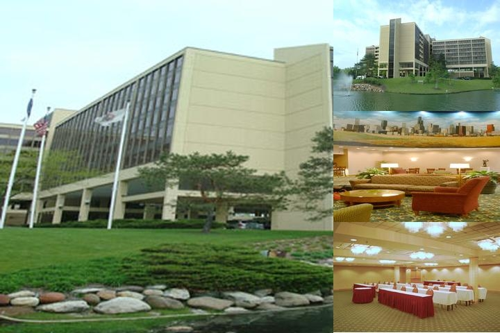 Hyatt Regency Oak Brook photo collage