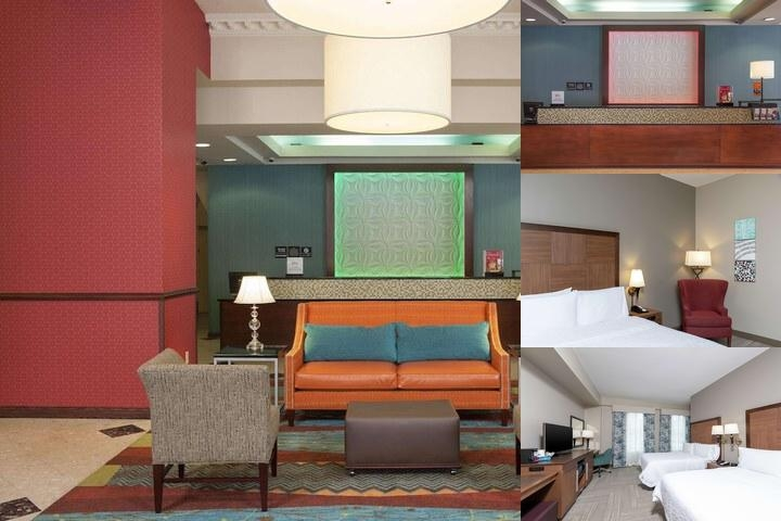 Hampton Inn Downtown Indianapolis photo collage