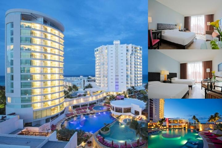 Krystal Grand Punta Cancun photo collage