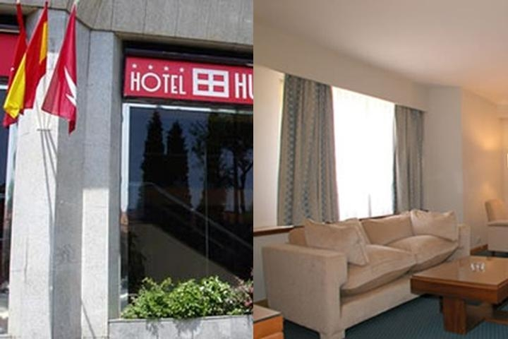 Husa Moncloa Hotel photo collage