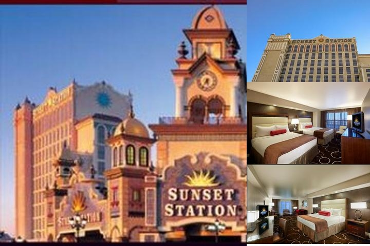 Sunset Station Hotel & Casino photo collage