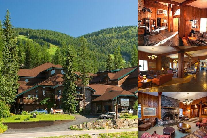 Kandahar Lodge at Whitefish Mountain Resort photo collage