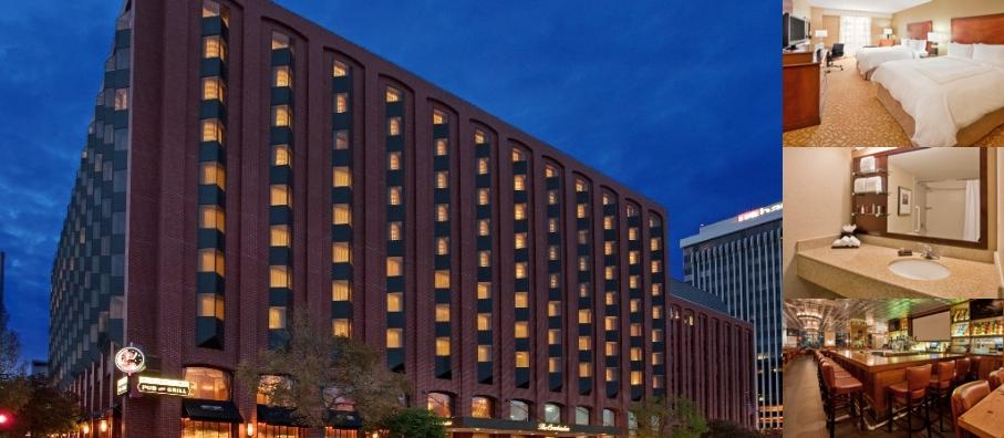 The Lincoln Marriott Conhusker Hotel photo collage