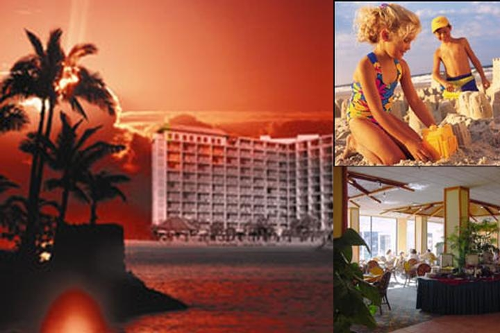 Treasure Island Resort photo collage