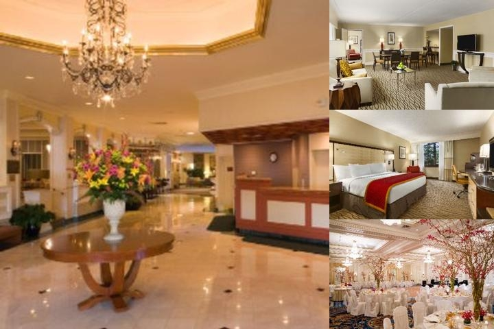 Hilton Woodcliff Lake photo collage