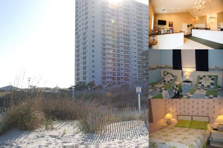 Myrtle Beach Resort Vacations photo collage