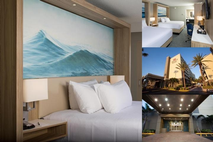 Crowne Plaza Hotel Melbourne Oceanfront photo collage