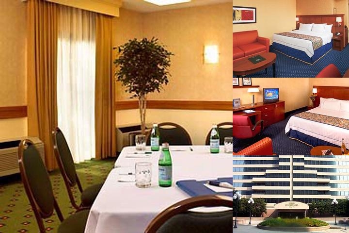 Courtyard by Marriott Cumberland Center photo collage
