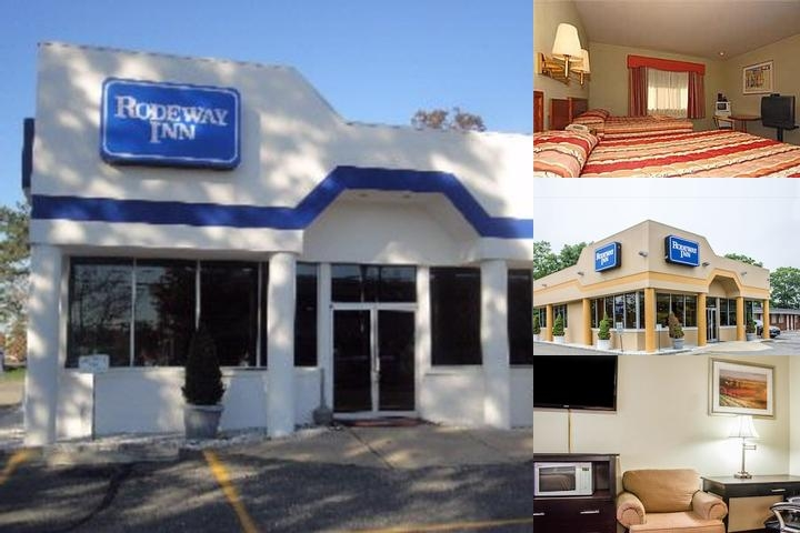 Rodeway Inn Macarthur Airport photo collage