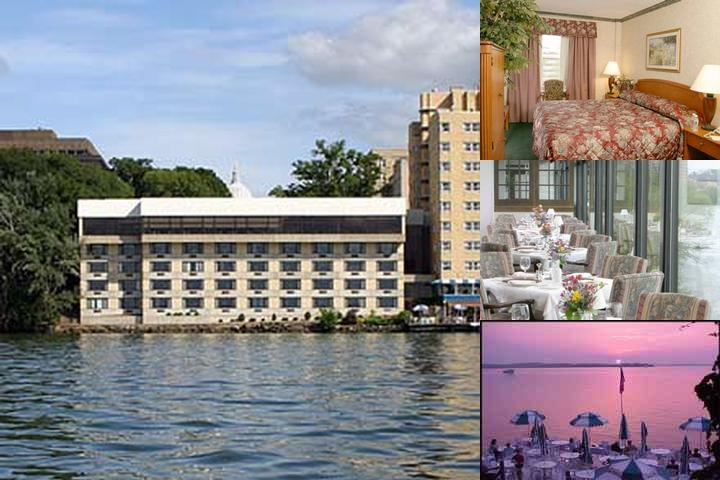 The Edgewater Hotel photo collage