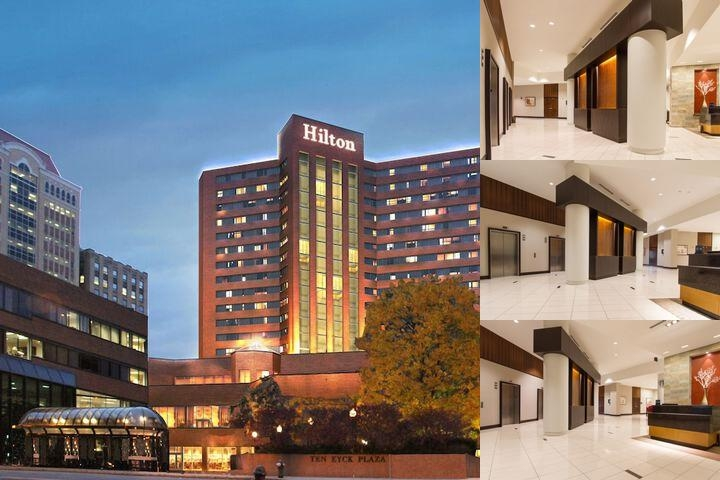 Hilton Albany photo collage