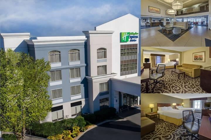 Holiday Inn Express Hotel & Suites Murfreesboro photo collage