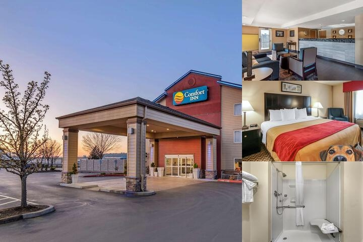 Comfort Inn Columbia Gorge Gateway photo collage