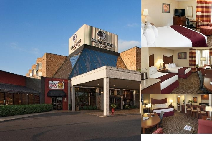Doubletree Hotel photo collage