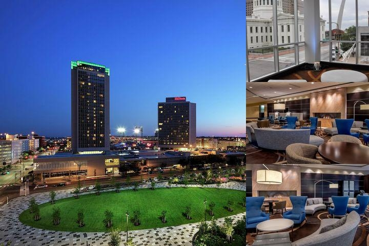 Hilton St. Louis at the Ballpark photo collage