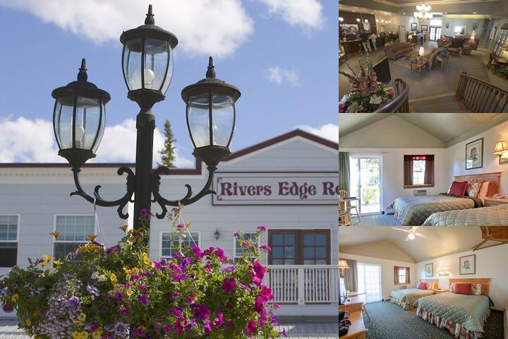 River's Edge Resort photo collage