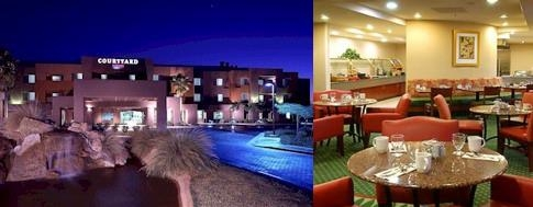Marriott Courtyard North Scottsdale photo collage